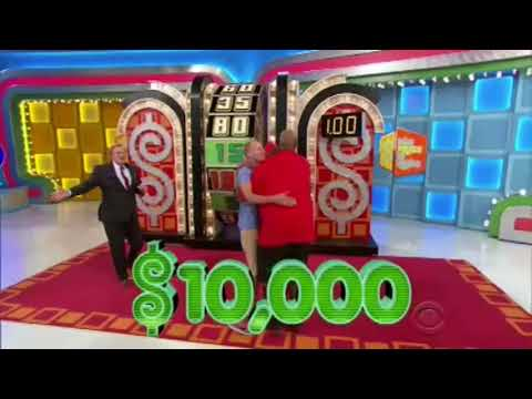 Michael Berry - Craziest Price is Right wheel spin EVER!!! $80,000 won!