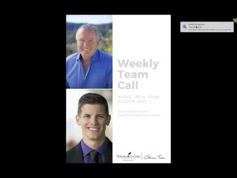 Conference Call with Richard Bliss Brooke