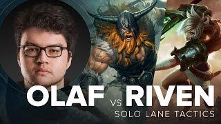 Olaf vs Riven top lane guide by TSM Dyrus - Season 5   League of Legends