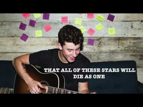 Shawn Mendes  All of the stars  lyrics