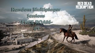 Red Dead Redemption - Random Multiplayer Session - Free Roam!