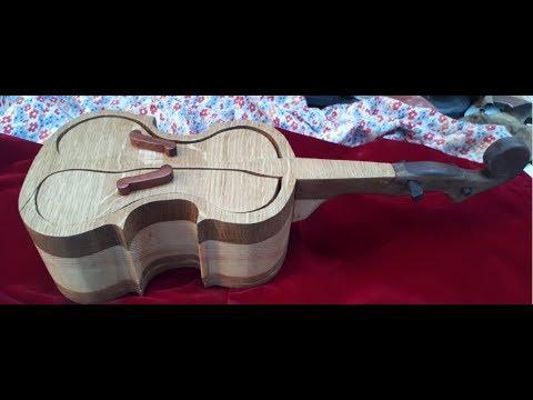 Шкатулка  скрипка        Bandsaw Box