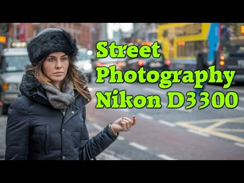 Street Photography with Nikon D3300 and 35mm 1.8G Lens Dublin Ireland Jan 2016