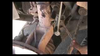 Форд фокус 1. Замена передней стойки стабилизатора( косточка).