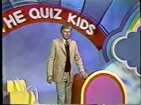 Quiz Kids game  with Jim MacKrell Part 2