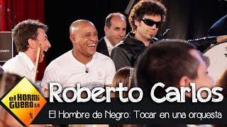 Roberto Carlos toca con Pablo Motos en la Film Symphony Orchestra - El Hormiguero 3.0