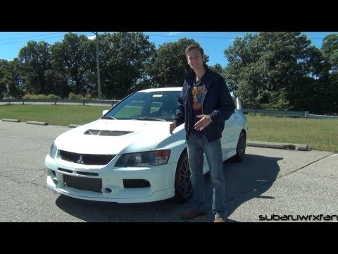 Review: 2006 Mitsubishi Lancer Evolution IX MR
