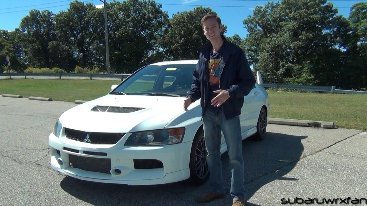 review 2006 mitsubishi lancer evolution ix mr youtube. Black Bedroom Furniture Sets. Home Design Ideas