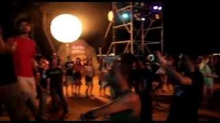 Siloso Beach Party-singapore new year 2011 Part 1/2