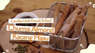 Camilan Kekinian Sehat Churros Almond Kacang Hijau | Cooking Mama