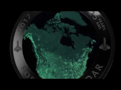 View of Canada from Space Video