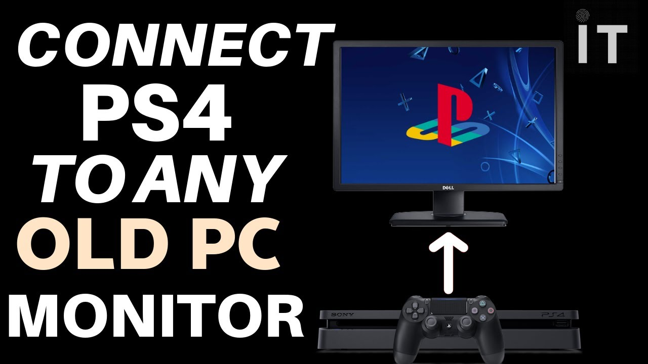 How to Connect PS4 to any Monitor 100% working
