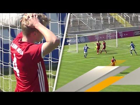 Götzes Eigentor leitet U19-Pleite des FC Bayern ein | SPORT1