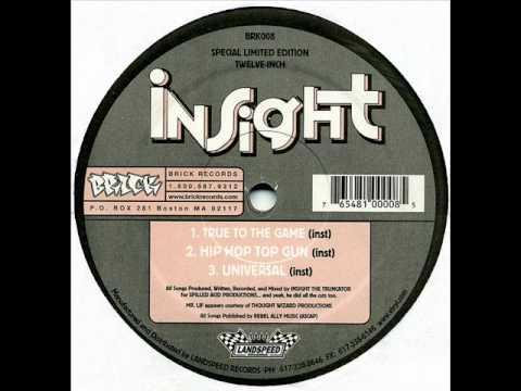 Insight - Universal feat. Mr. Lif (Instrumental)