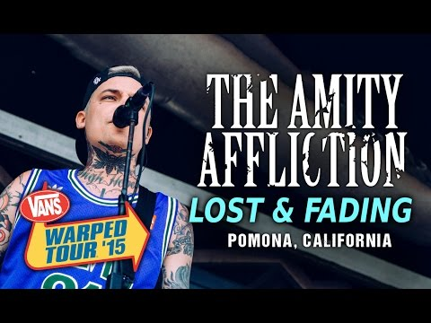 "The Amity Affliction - ""Lost & Fading"" LIVE! Vans Warped Tour 2015"