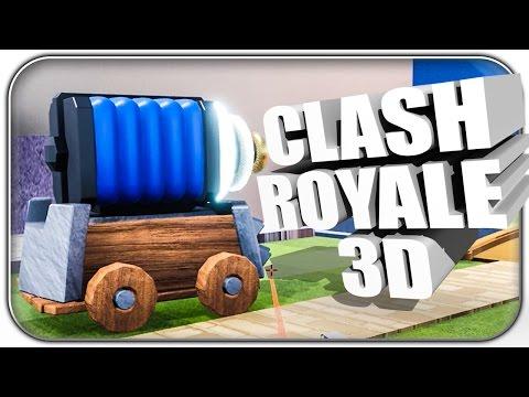 GENIAL 👍 CLASH ROYALE IN 3D | Clash Royale Let's Play | Deutsch German