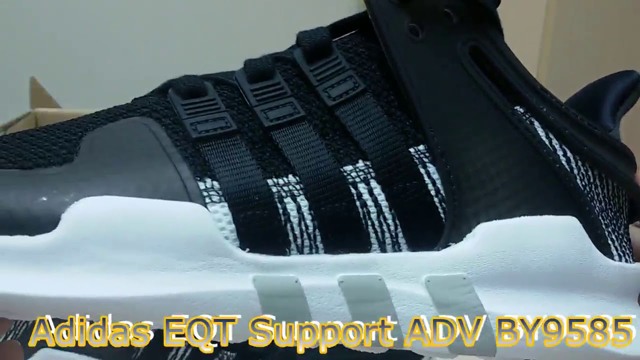 reputable site 55407 e1fd3 Unboxing Review sneakers Adidas EQT Support ADV BY9585