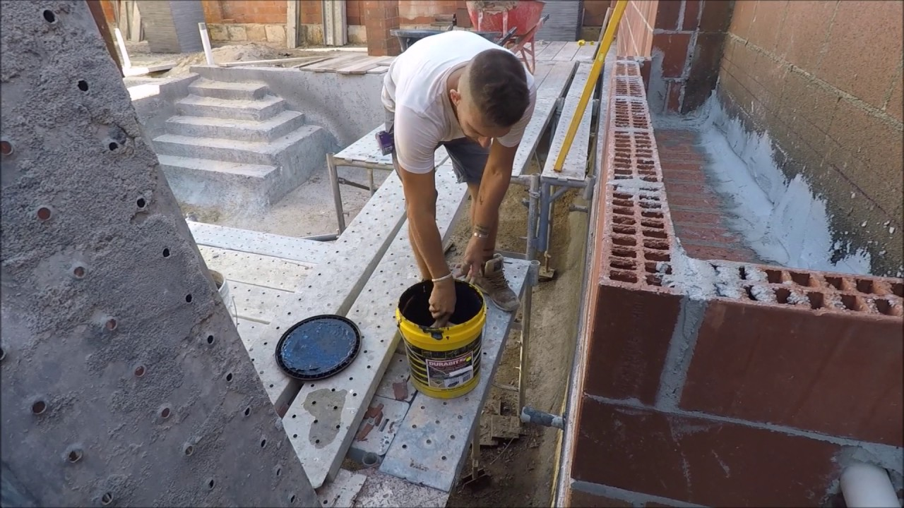 Waterproofing Planter Boxes : Waterproofing a planter box youtube