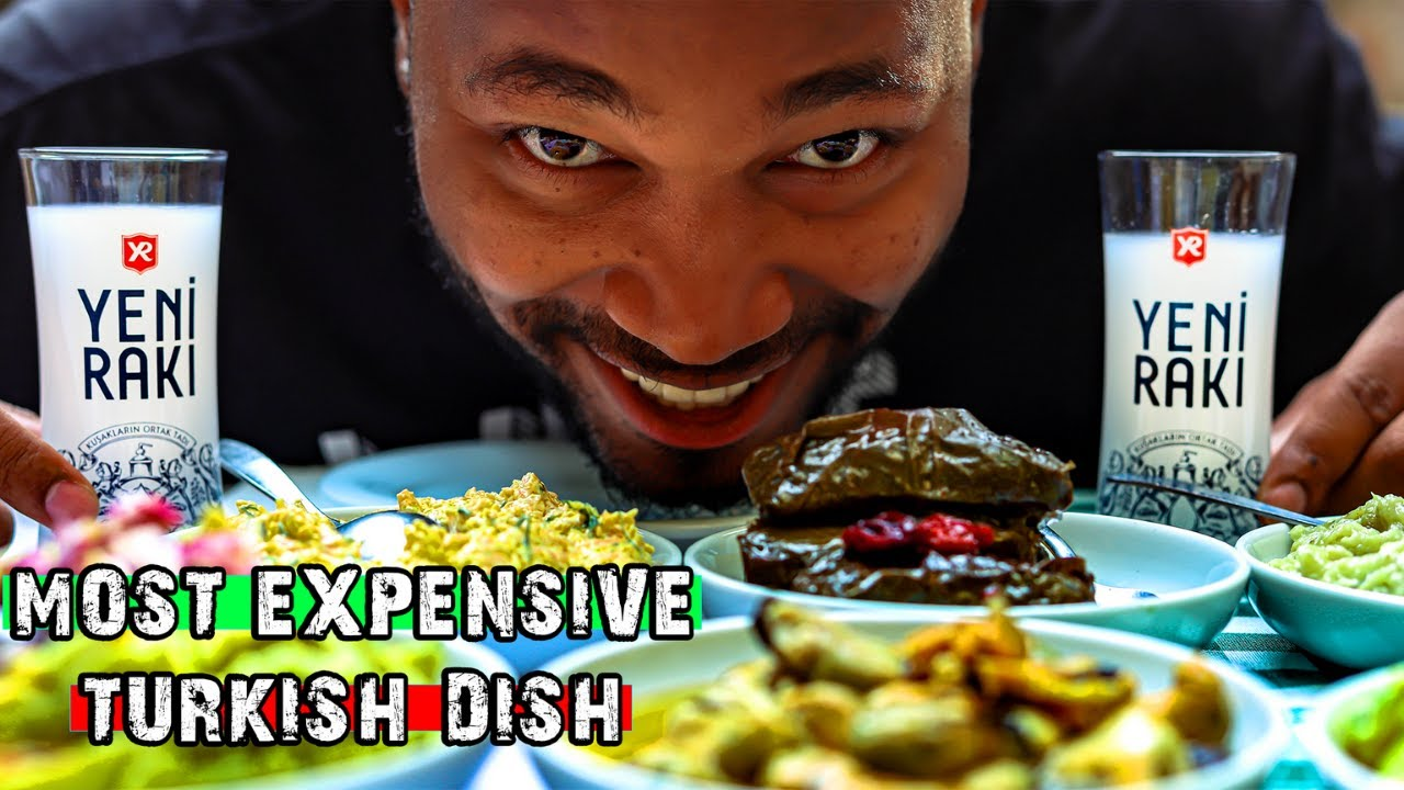 OUR MOST EXPENSIVE MEAL | Foreigners Try Traditional Turkish Food | WHAT TO EAT IN TURKEY 🇹🇷