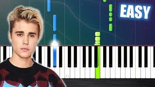 Video David Guetta ft Justin Bieber - 2U - EASY Piano Tutorial by PlutaX download MP3, 3GP, MP4, WEBM, AVI, FLV Februari 2018