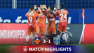 Highlights - FC Goa 3-1 Kerala Blasters - Match 19 | Hero ISL 2020-21
