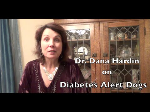 Diabetes, How dogs can be of help - by Dr. Dana Hardin