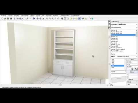 como usar programa de diseño cocinas, baños, armarios - YouTube