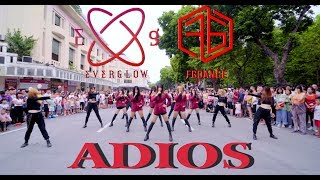 Download [ KPOP IN PUBLIC CHALLENGE ] EVERGLOW(에버글로우) - 'Adios' Dance Cover By FGDance from Vietnam