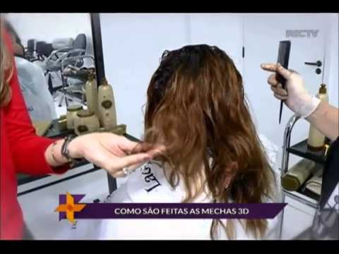 Matéria sobre Mechas 3D veiculada no programa Ver Mais Curitiba, da RICTV ...