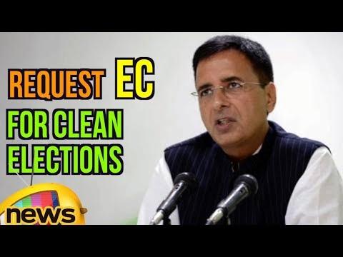Randeep Surjewala Requests EC for Clean Elections, Discrepancies In Voters List In MP | Mango News