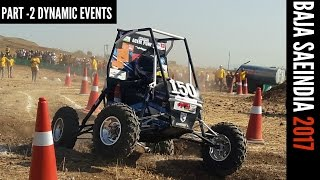 FULL COVERAGE : DYNAMIC EVENTS | Mahindra BAJA SAEINDIA 2017 | PART-2 thumbnail