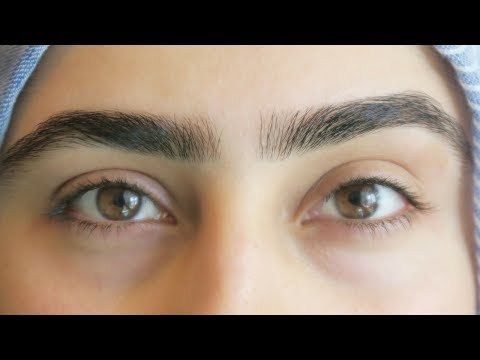 MY HALAL EYEBROW TUTORIAL - MUSKA JAHAN