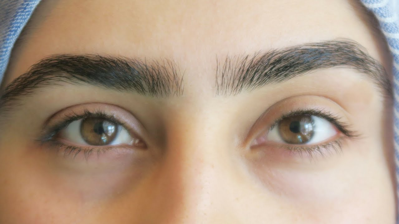 My Halal Eyebrow Tutorial Muska Jahan Youtube