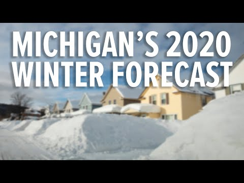 Michigan Winter Weather Forecast For 2019-2020