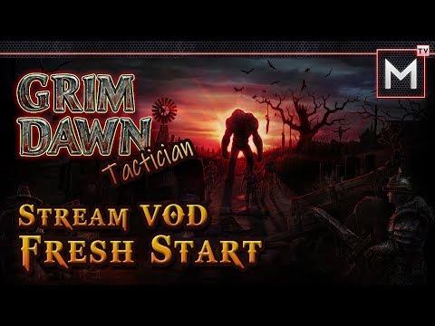Grim Dawn - Optimizing The Tactician - Part 2 (Stream VOD