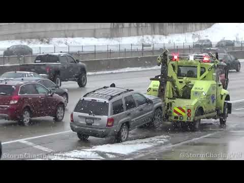 Metro Chicago, IL Snow and Accidents - 2/13/2021