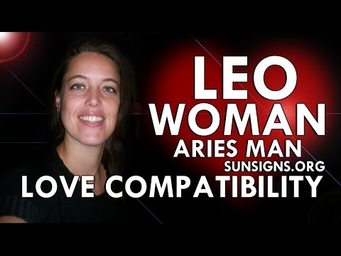 Leo woman and aries man attraction