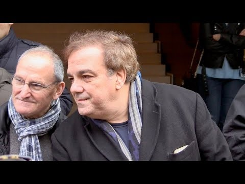 EXCLUSIVE : Didier Bourdon at RTL radio station in Paris