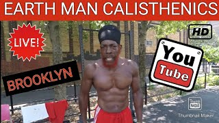 """RED"" - 53 Yrs - ""I AM EARTH MAN...I AM FROM THE COSMOS"" - WINGATE PARK - BROOKLYN - FIT OVER 50"