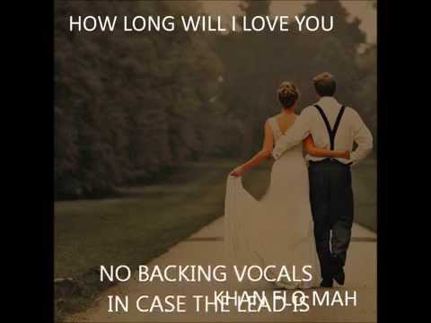 How Long Will Love You Instrumental Wedding Version