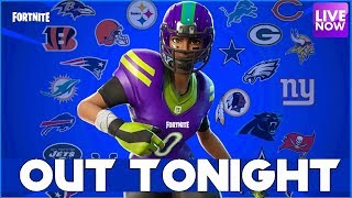 NEW NFL SKINS TONIGHT - 2201 WINS - FORTNITE BATTLE ROYALE - PS4 PRO - 7pm EST