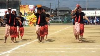 津島北集団演技オレンジブロック 後半