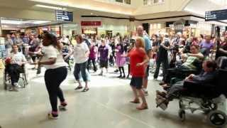 Flash mob for Disability Awareness Week at Garden City
