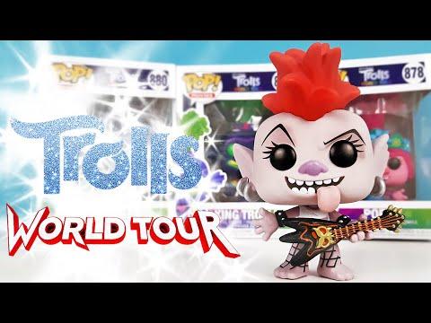 ТРОЛЛИ МИРОВОЙ ТУР Новая коллекция FUNKO POP! мультик Trolls World Tour Unboxing ИГРУШКИ ОБЗОР