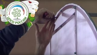 Как собрать теплицу с оцинкованным каркасом