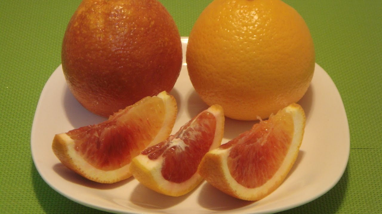 Blood Orange: How to Eat Blood Orange Fruit - YouTube