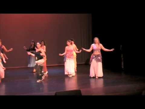 """danse orientale 7 voiles rouen """"hava naguila"""" spectacle juin2008"""