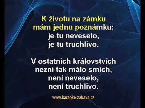 Kdyby se v komnatách - Zdeněk Svěrák, Jaroslav Uhlíř Karaoke tip