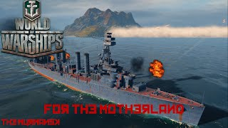 world of warships the murmansk for the motherland