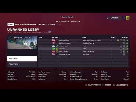 Azerbaijan GP   ISRL Academy - Tier 1